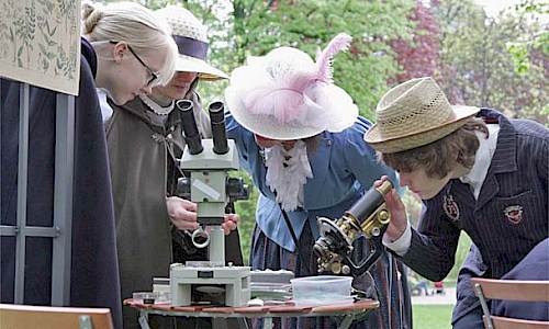Time Travel to year 1878, Estonian Garden Association's walk to nature