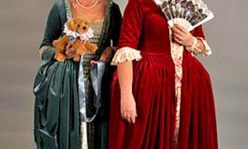Historical costumes at Kalmar County Museum