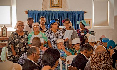 Reclaiming the church and reconciliation in the community, 1968 in Montagu, South Africa
