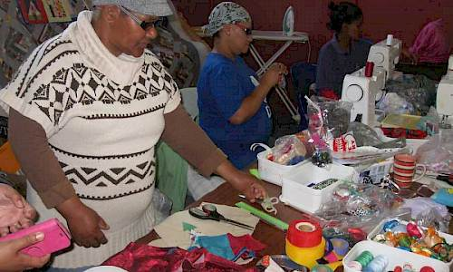 Bridging Ages with the elderly, Ashton, South Africa