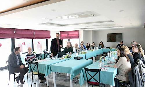 Bridging Ages Turkey meeting in Giresun, Turkey